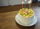 スタッフの誕生日ケーキ
